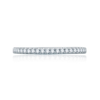 a._jaffe_14k_white_gold_diamond_french_pave_half_circle_stackable_band,_0.16cttw