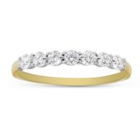 18K_Yellow_Gold_Prong_Set_Diamond_Band,_0.35cttw