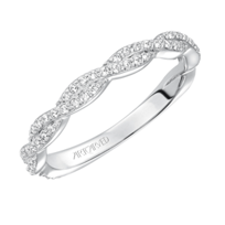ArtCarved_14K_White_Gold_Madeline_Diamond_Wedding_Band
