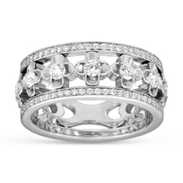 Peter_Storm_18K_White_Gold_Diamond_Clover_Band