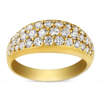 18K_Yellow_Gold_Tapered_Three_Row_Diamond_Anniversary_Band