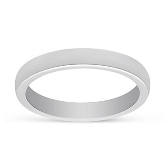 Precision Set Platinum 2.7mm Plain Wedding Band