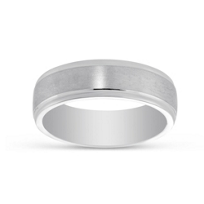 18K_White_Gold_Satin_&_Polished_Wedding_Band,_6.5mm