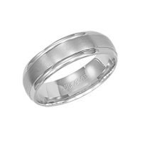 ArtCarved_18K_White_Gold_Comfort_Fit_Wedding_Band,_6mm