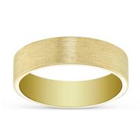 14K_Yellow_Gold_Brushed_Finish_Wedding_Band,_6mm