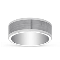 White_Tungsten_Matte_&_Polished_Wedding_Band,_8mm