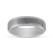 Tungsten_Carbine_Satin_&_Polished_Wedding_Band,_7mm