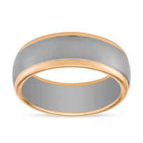 Furrer-Jacot_18K_White_&_Rose_Gold_Brushed_Band_with_High_Polish_Edge,_8mm
