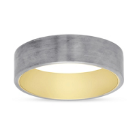 Furrer-Jacot_18K_White_&_Yellow_Gold_Brushed_Band,_6mm