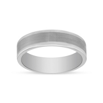 White_Tungsten_6mm_Comfort_Fit_Flat_Wedding_Band,_Size_9.5