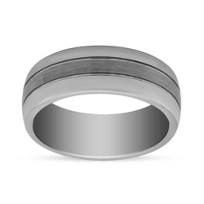 Tungsten_8mm_Polished_Wedding_Band_with_Brushed_Center,_Size_10