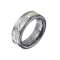 tungsten_carbide_&_sterling_silver_diamond_channel_set_wedding_band,_size_10
