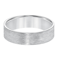 14K_White_Gold_Brushed_Finish_Band,_6mm