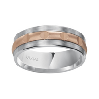 Diana_14K_White_Gold_and_Rose_Gold_Patterned_Band,_7mm