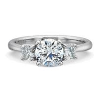 Precision_Set_Platinum_Three_Stone_Diamond_Ring_Setting,_0.30cttw