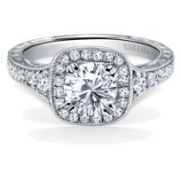 Kirk_Kara_Platinum_Carmella_Square_Halo_Diamond_Ring_Mounting,_0.43cttw