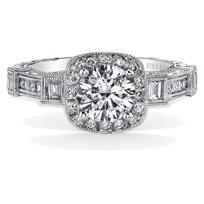 Kirk_Kara_Platinum_Carmella_Square_Halo_Diamond_Ring_Mounting,_0.59cttw