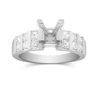 14K_White_Gold_Vertical_Channel_Set_Princess_Cut_Diamond_Ring_Mounting