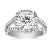 Precision_Set_18K_White_Gold_Split_Shank_Diamond_Halo_Ring_Setting,_0.50cttw