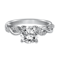 ArtCarved_14K_White_Gold_Gabriella_Diamond_Engagement_Ring_Setting
