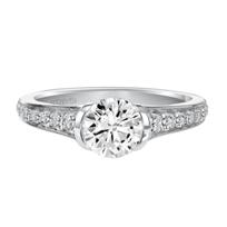 ArtCarved_14K_White_Gold_Brynn_Diamond_Engagement_Ring_Setting
