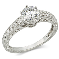 14K_White_Gold_Engraved_Diamond_Ring_Mounting,_0.22cttw