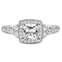 ArtCarved_14K_White_Gold_Alexandra_Diamond_Engagement_Ring_Setting