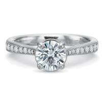 Precision_Set_18K_White_Gold_Milgrain_Edge_Diamond_Ring_Setting,_0.28cttw