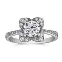 18K_White_Gold_Diamond_Square_Halo_Ring_Setting