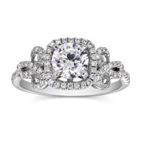 18K_White_Gold_Diamond_Vintage_Square_Halo_Ring_Setting