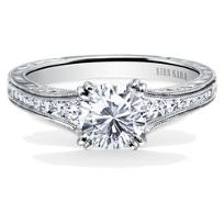 Kirk_Kara_18K_White_Gold_Stella_Milgrain_Diamond_Ring_Mounting,_0.25cttw