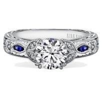 Kirk_Kara_18K_White_Gold_Dahlia_Diamond_&_Sapphire_Ring_Mounting