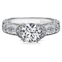 Kirk_Kara_18K_White_Gold_Dahlia_Leaf_Diamond_Ring_Mounting,_0.23cttw