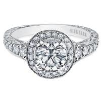 Kirk_Kara_18K_White_Gold_Carmella_Halo_Diamond_Ring_Mounting,_0.43cttw