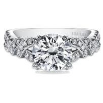Kirk_Kara_18K_White_Gold_Pirouetta_Diamond_Ring_Mounting,_0.33cttw