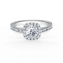 kirk_kara_18k_white_gold_diamond_halo_engraved_carmella_ring_mounting