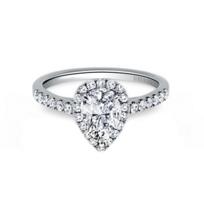 Kirk_Kara_18K_White_Gold_Ring_Mounting_with_Diamond_Pear_Halo_and_Shank