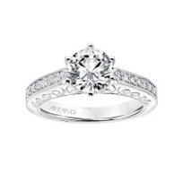 ArtCarved_14K_White_Gold_Cossette_Diamond_Ring_Mounting