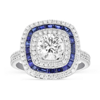 Peter_Storm_18K_White_Gold_Round_Diamond_Caliber_Cut_Sapphire_Ring_Mounting_with_Double_Row_Shank