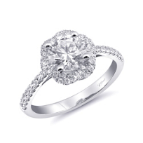 14k_white_gold_floral_shaped_diamond_halo_ring_mounting