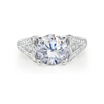 peter_storm_18k_white_gold_diamond_ring_mounting_with_diamond_baguette_euro_shank_tapered_sides