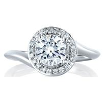 a._jaffe_14k_white_gold_diamond_swirl_frame_ring_mounting