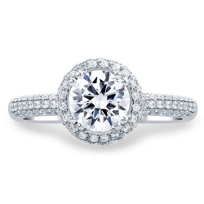 a._jaffe_14k_white_gold_diamond_halo_&_pave_shank_ring_mounting