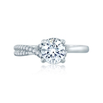 a._jaffe_14k_white_gold_diamond_crisscrossed_semi_pave_engagement_ring,_0.16cttw
