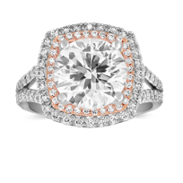 Precision_Set_Platinum_and_18K_Rose_Gold_Double_Halo_Ring_Mounting