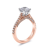 14K_Rose_Gold_Diamond_Milgrain_Ring_Mounting_with_Twisted_Gallery_