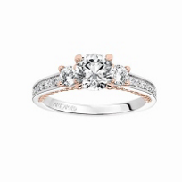ArtCarved_14K_White_&_Rose_Gold_Round_Diamond_Marlow_Ring_Mounting