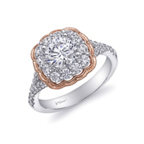14k_rose_and_white_gold_floral_shaped_diamond_halo_ring_mounting_