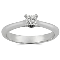 14K_White_Gold_Princess_Cut_Diamond_Ring,_0.27cttw