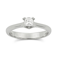 14K_White_Gold_Princess_Solitaire_Diamond_Ring,_0.30ct